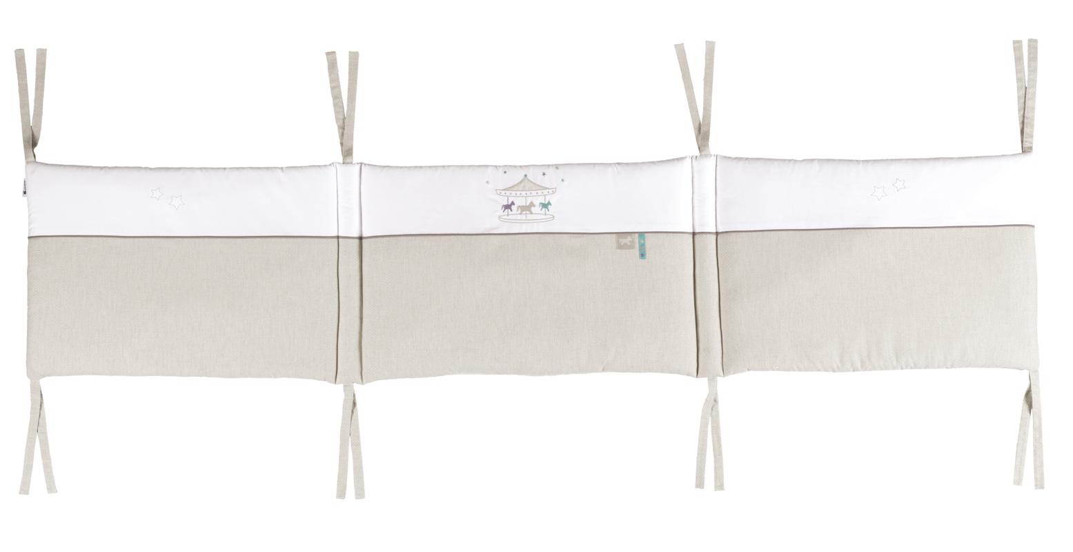 Candide ctour de lit pour lits 60x120 et 70x140 cm petit m - Tour de lit bebe pour lit 70x140 ...