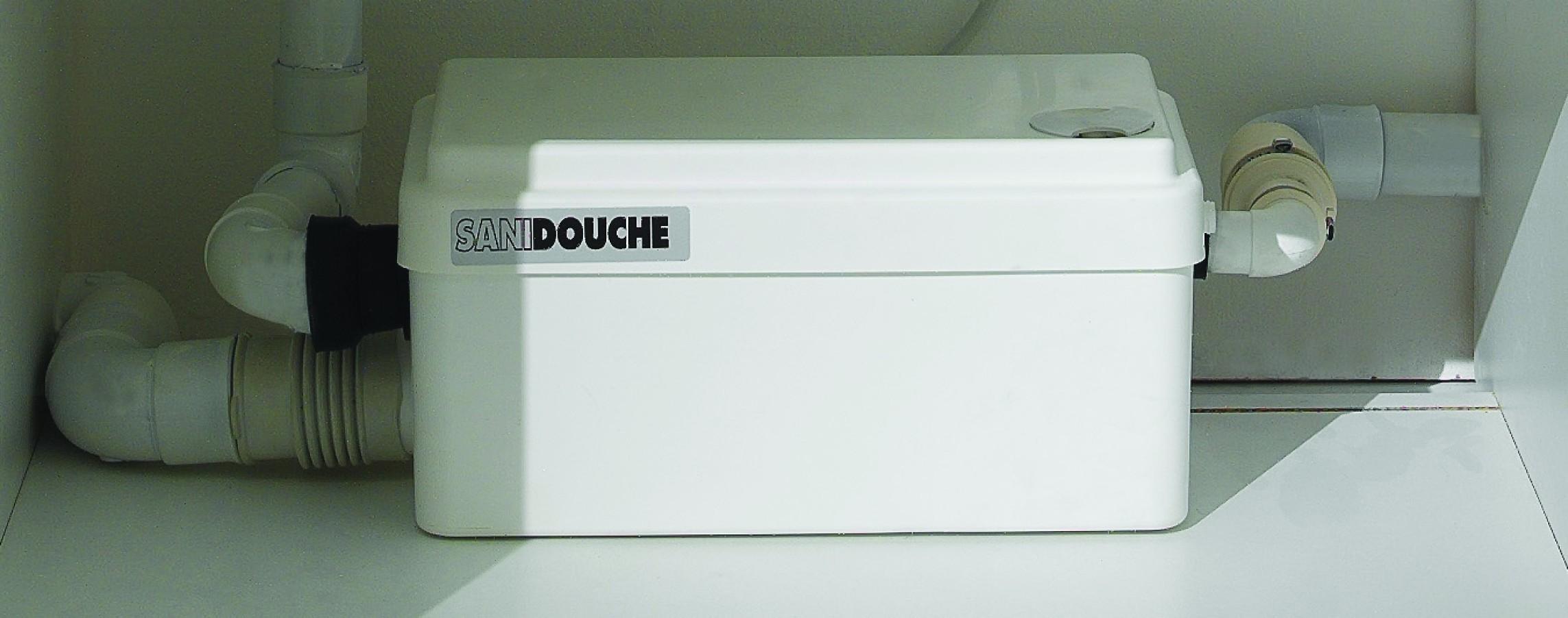 Sfa sanibroyeur sanidouche une pompe de qualit lavabo - Pompe de relevage douche ...