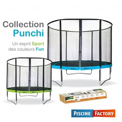 kangui trampoline collection punchi coloris atoll 305. Black Bedroom Furniture Sets. Home Design Ideas