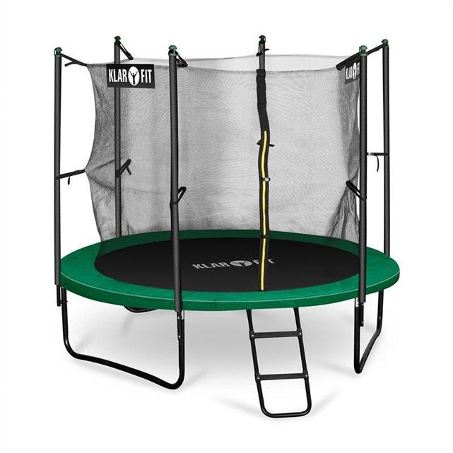 klarfit c rocketstart 250 trampoline 250cm filet de s cu. Black Bedroom Furniture Sets. Home Design Ideas