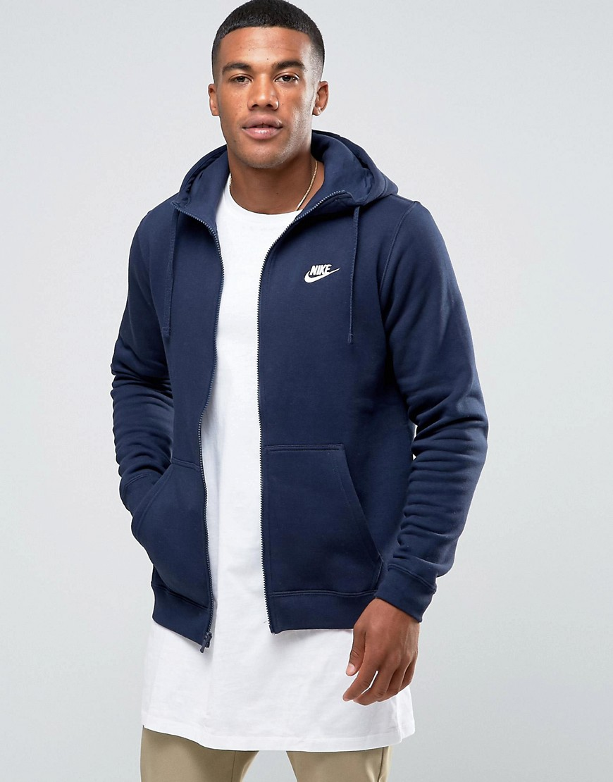 nike veste sweat capuche nsw hoodie fullzip fleece c. Black Bedroom Furniture Sets. Home Design Ideas