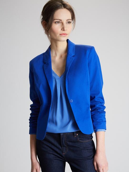 Veste tailleur femme en laine