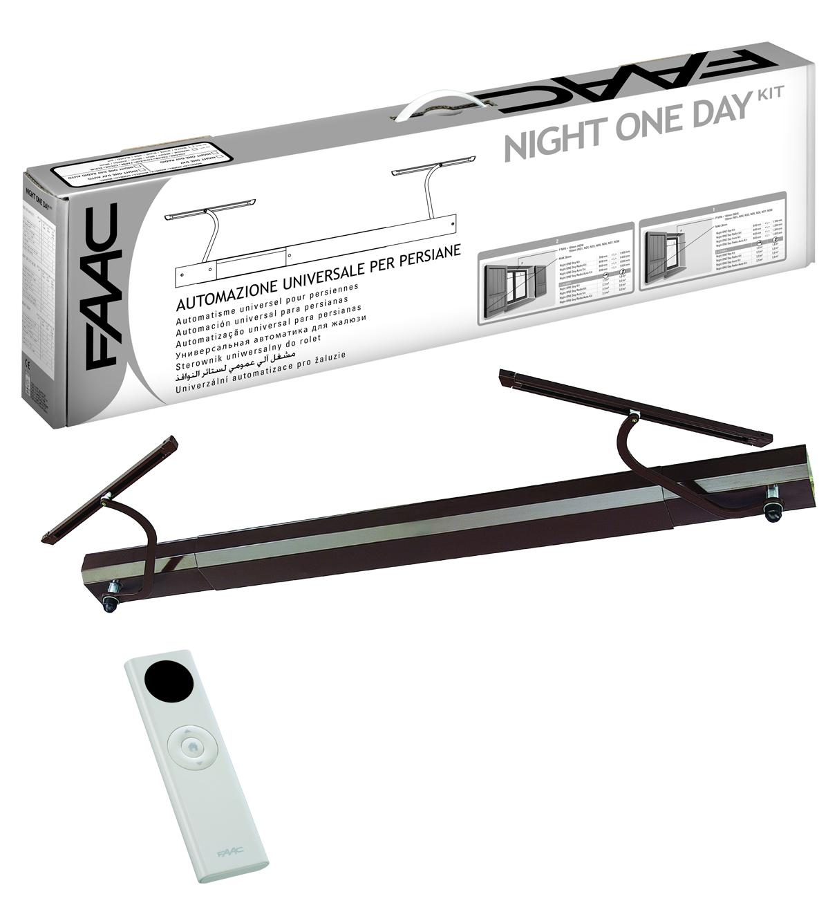 faac kit motorisation volets battants night one day se. Black Bedroom Furniture Sets. Home Design Ideas