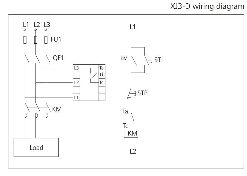 schema branchement drt 380v